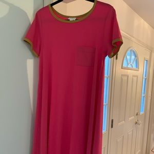 LulaRoe PINK Carly Dress